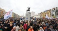"""Добро дошао кући: Уз """"Востани Сербије"""" откривен споменик краљу Петру"""