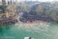(ВИДЕО) Са обала Мораче орило се Немањиним градом – Косово је Србија!